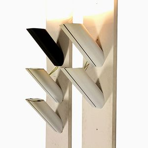 Megaron Parete Wandlampen von Gianfranco Frattini für Artemide, 1970er, 5er Set