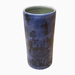 Vase aus Keramik von Jacques Blin, 1960er