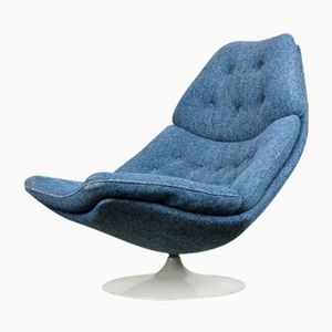 F588 Swivel Lounge Chair by Geoffrey Harcourt for Artifort, 1960s