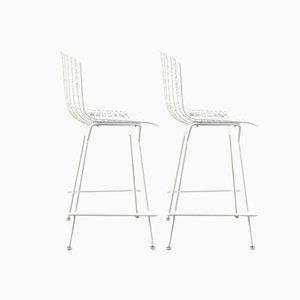 Stühle von Harry Bertoia für Knoll, 1980er, 2er Set