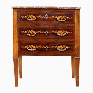 Antique Dutch Marquetry Commode, 1880s
