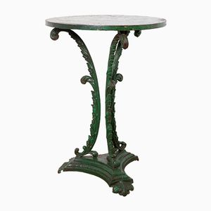 Green Cast Iron Table, 1860s