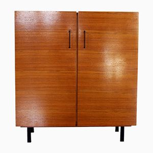 Mid-Century Two-Door Cabinet