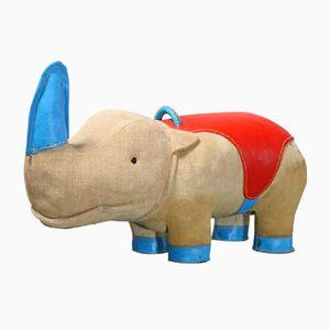Sgabello Nossy a forma di rinoceronte di Renate Müller per H. Josef Leven KG, anni '70