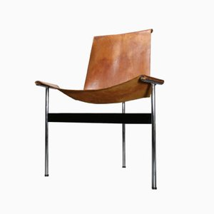 3LC T-Chair von William Katavolos & Ross Littell für Laverne International, 1950er