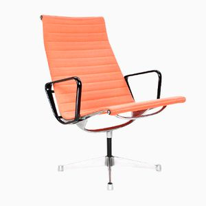 Vintage EA116 Swivel Lounge Chair by Charles & Ray Eames for Herman Miller