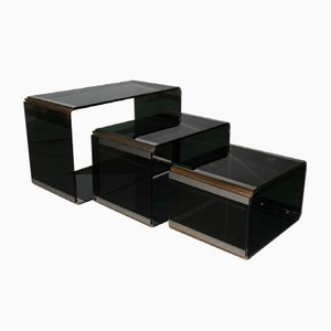Nesting Tables by Romeo Rega for Metalarte, 1970s