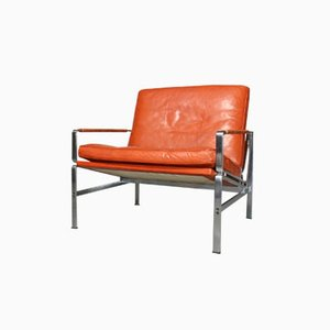 Vintage FK 6720 Lounge Chairs by Preben Fabricius & Jørgen Kastholm for Kill International, Set of 2