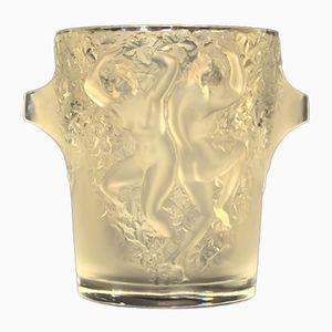 Modell Ganymede Champagnerkübel aus Kristallglas von Marc Lalique, 1980er