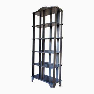 Vintage Industrial Metal Bookcase