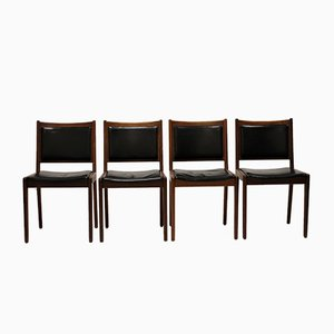 Vintage Chairs by Karl Erik Ekselius for JOC Vetlanda, 1964, Set of 4