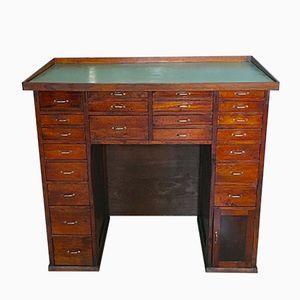 Vintage Clock Maker's Table