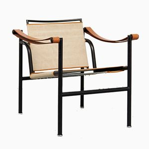 LC1 Club Chair by Le Corbusier, Pierre Jeanneret & Charlotte Perriand for Cassina, 1928