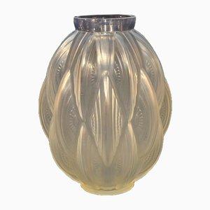 24 Pirogues Vase von Sabino, 1930er