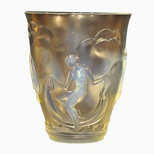 Art Déco Danseuses Vase von Verlys, 1930er