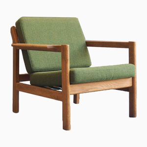 Model 227 Lounge Chair by Børge Mogensen for Fredericia, 1960s