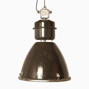 Lampada Type II Linz G vintage industriale in vetro