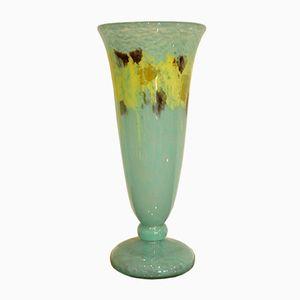 Jades Vase by Charles Schneider, 1920s