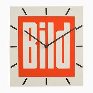 Horloge Murale Publicitaire Bild de Dragon Werbemittelwerk, 1979