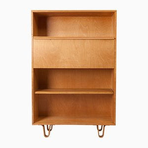 Mid-Century BB02 Bookcase with Desk by Cees Braakman for Pastoe