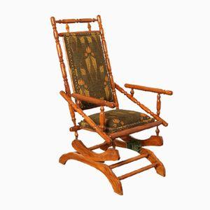 Antique Eastlake Platform Rocking Chair