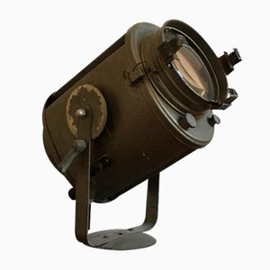 Vintage French Theater Spotlight from Cremer