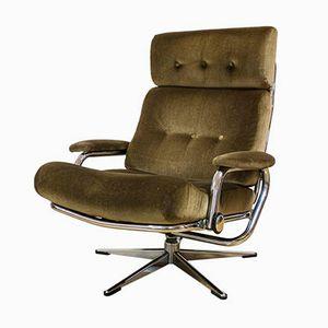 Vintage Danish Reclining Armchair