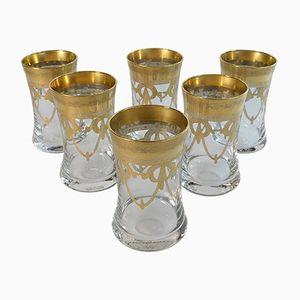 Vintage Wassergläser von Arte Italica, 6er Set