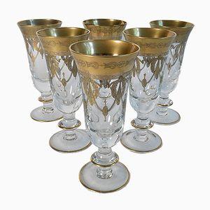 Bicchieri da champagne vintage di Arte Italia, set di 6