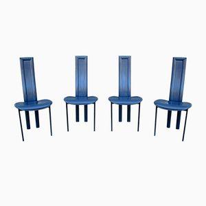 Alice Esszimmerstühle von Giorgio Cattelan für Cattelan, 1980er, 4er Set