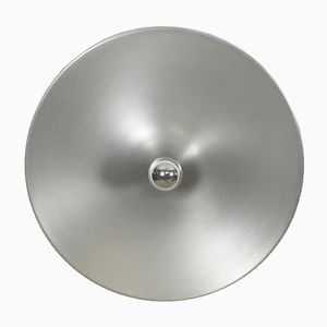 Modernist Large German Disc Wall Light from Staff, 1960s
