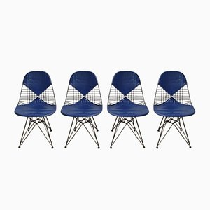DKR-2 Bikini Chairs by Charles & Ray Eames for Herman Miller, 1950s, Set of 4
