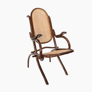 Klappbarer Sessel von Thonet, 1910er