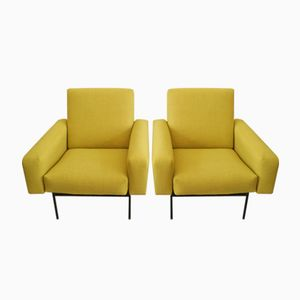 Model G10 Lounge Chairs by Pierre Guariche for Airborne, 1953, Set of 2