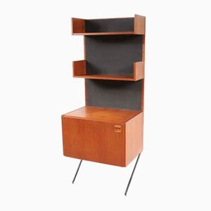 Teak Wall Resting Cabinet by William Watting for Fristho, 1960s