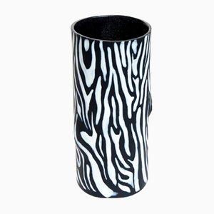 Zebri I. Camouflage Vase by Ahryun Lee, 2017