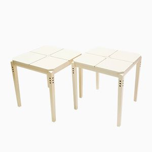 Side Tables from Giorgetti, 1974, Set of 2