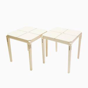 Tavolini di Giorgetti, 1974, set di 2