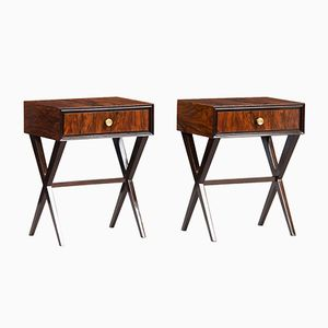 Tables de Chevet Vintage, Italie, Set de 2