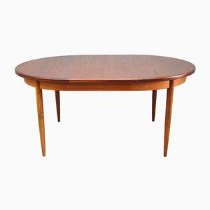 Table de Salle à Manger Mid-Century à Rallonge en Teck Ovale de G-Plan