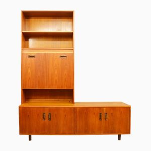 Mid-Century Teak Wall Unit from G-Plan