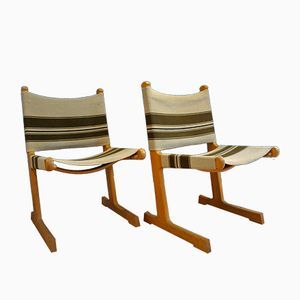 Danish Mid-Century Chairs by Ditte & Adrian Heath for France & Søn, Set of 2