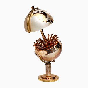 Mid-Century Brass Cigarette Holder