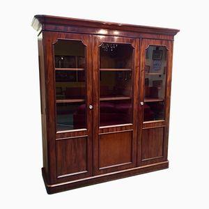 Viktorianisches Mahagoni Bücherregal aus 19. Jhdt.