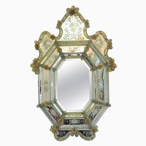 Venezianischer Spiegel aus 19. Jhdt.