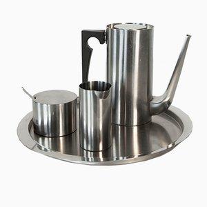 Set da caffè Cylinda-Line di Arne Jacobsen per Stelton, 1967