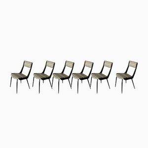 Mid-Century Italian Chairs, 1959, Set of 6