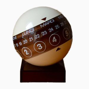 Mid-Century Space Age Perpetual Calendar from Porphyry