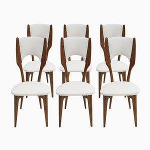 Stühle von Paolo Buffa, 1950er, 6er Set