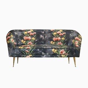 Italian Wooden Sofa, 1950s